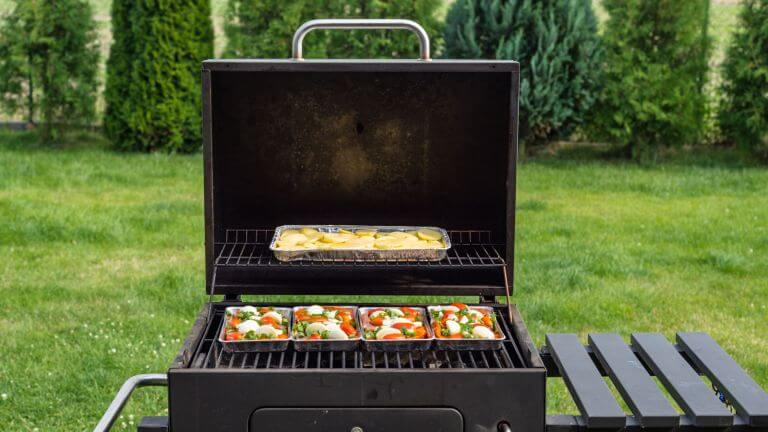 BBQ Grill, get rid of the sticky bits